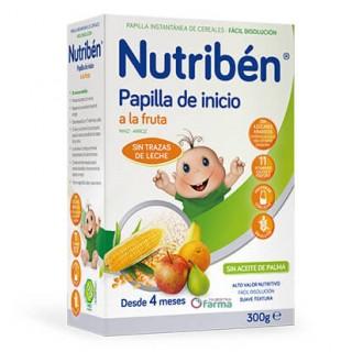 NUTRIBEN INICIO A LA FRUTA 300 G