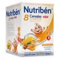NUTRIBEN 8 CEREALES CON UN TOQUE DE MIEL FRUTOS SECOS 600 G