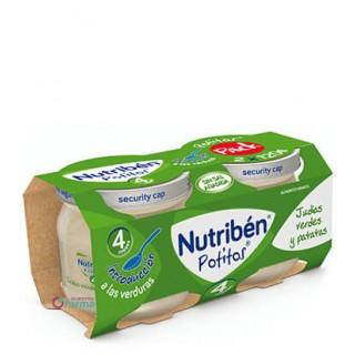 NUTRIBEN POTITO INICIO A LAS VERDURAS -JUDIAS VERDES Y PATATAS- 2 X 120 G