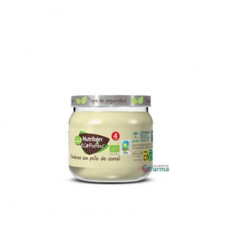 NUTRIBEN ECOPOTITO INICIO A LA CARNE POLLO DEL CORRAL CON VERDURAS 120 G