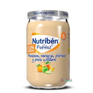 NUTRIBEN POTITO MANZANA, NARANJA, PLATANO Y PERA WILLIANS 235 G