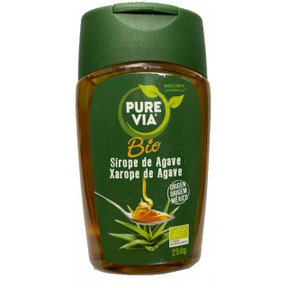PURE VIA SIROPE DE AGAVE ORGANICO 180 ML