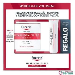 EUCERIN HYALURON FILLER VOLUME LIFT PIEL SECA CREMA DE DIA FPS 15  50 ML