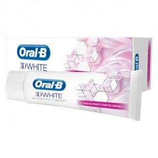 ORAL-B PASTA 3D WHITE THERAPY BLANQUEANTE DIENTES SENSIBLES 75 ML