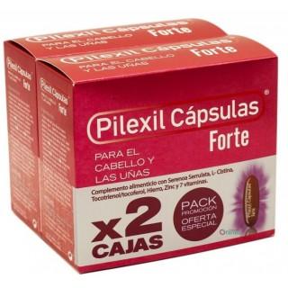 PILEXIL CAPSULAS FORTE CABELLO Y UÑAS DUPLO 2X100 CAPSULAS