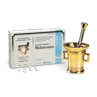 ACTIVECOMPLEX MELATONINA 30 COMPRIMIDOS