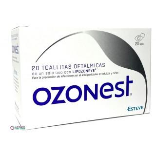 OZONEST 20 TOALLITAS OFTALMICAS