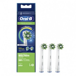 ORAL-B RECAMBIO CROSSACTION (EB 50-3) 3 UNIDADES