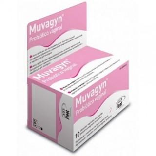 MUVAGYN PROBIOTICO 10 CAPSULAS VAGINALES