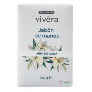 ACOFARMA VIVERA JABON DE MANOS AROMA LIRIO DE AGUA PASTILLA 100 G