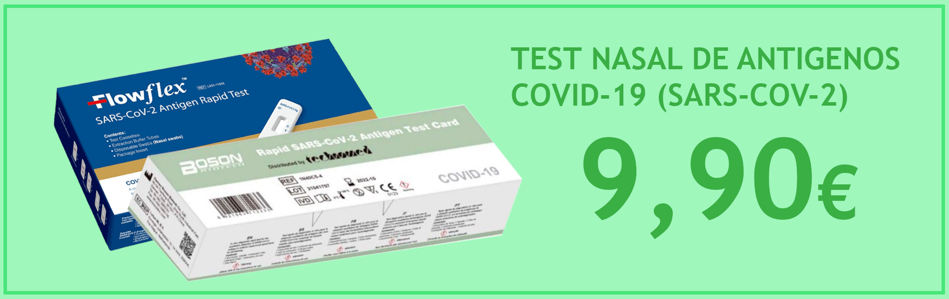 Test Antígenos COVID-19